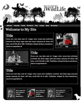 iWeb Template: WildLife Theme