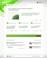 iWeb Template: Green Company