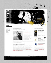 iWeb Template: Ink Theme