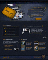 iWeb Template: Jeans Style